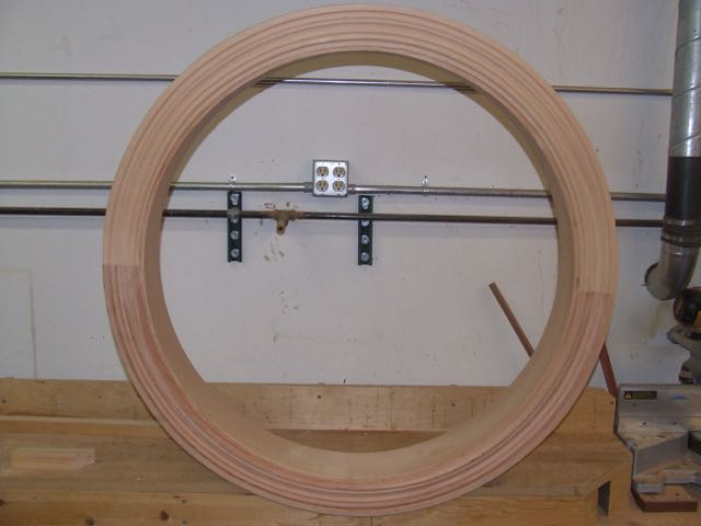 Circle Top Window : Circle top window trim finish carpentry contractor talk