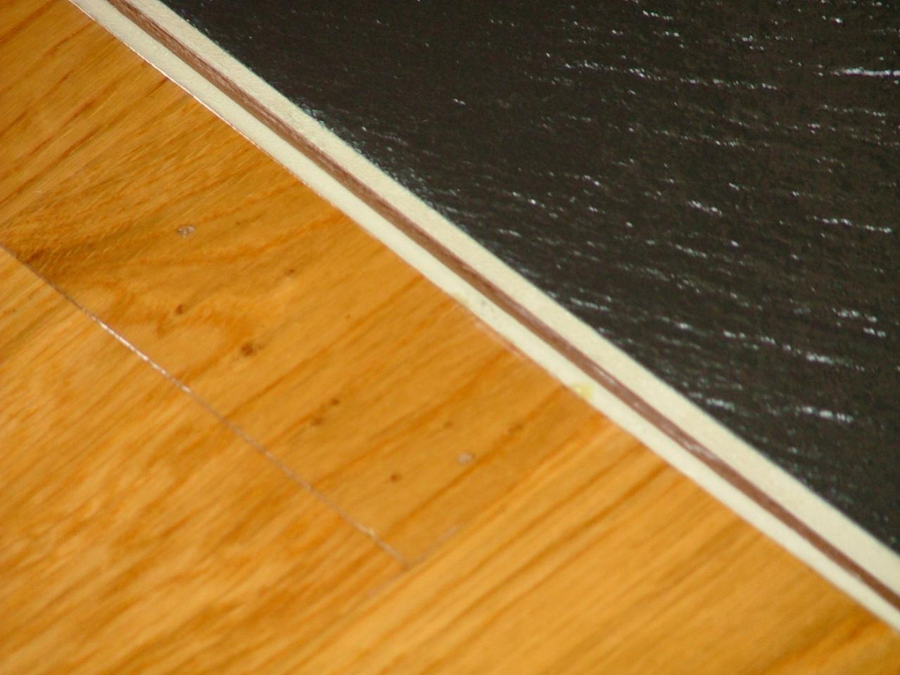 Slate Against Hardwood Floors Flooring Contractor Talk