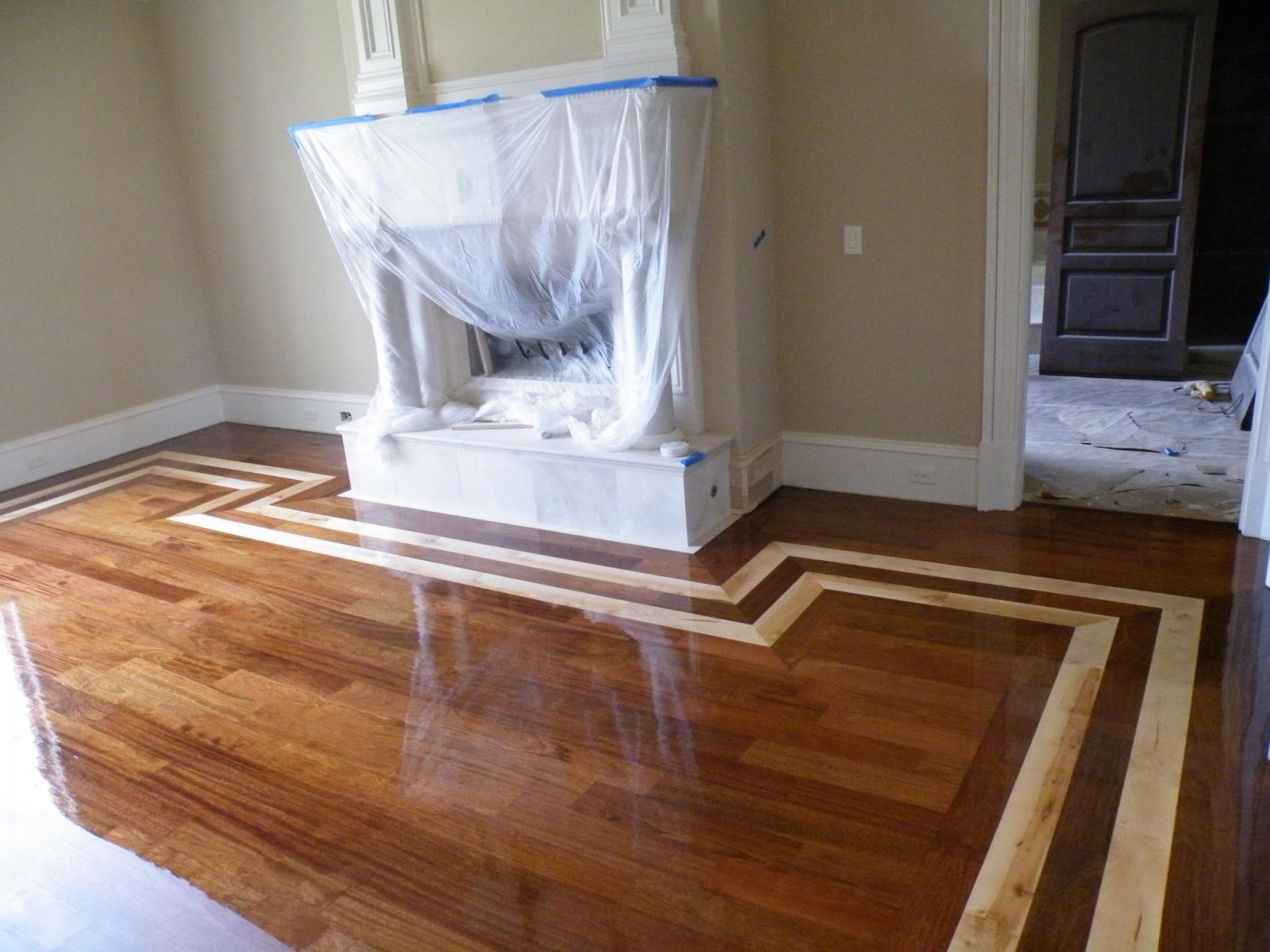Hardwood Floor Inlay Flooring Contractor Talk