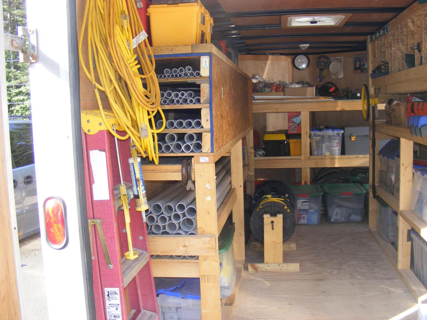 New Enclosed Trailer On Order Show Me How You Set Up Your