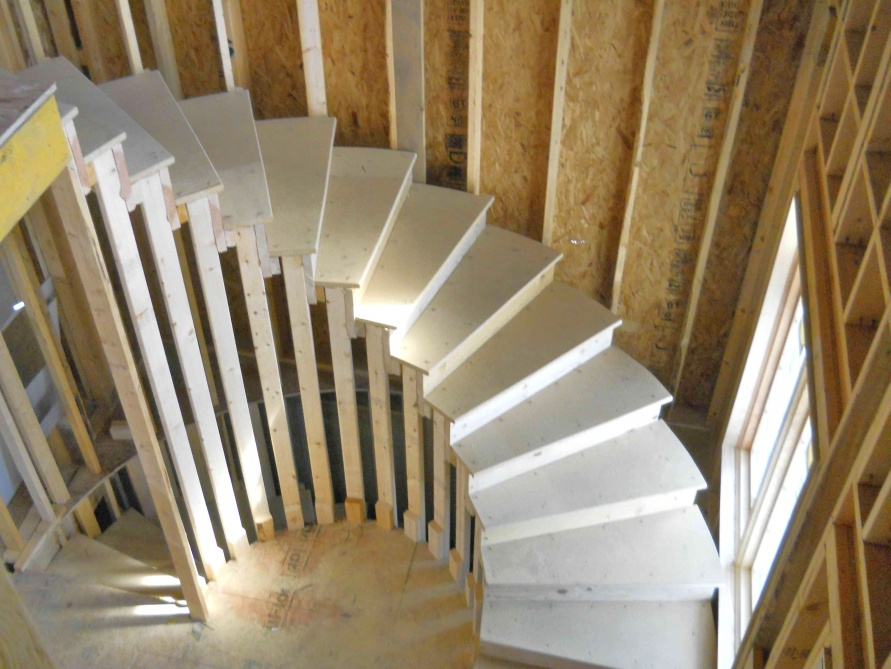 How To Build Curved Stairs Photos Freezer And Stair Iyashix