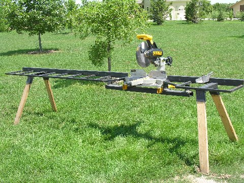 Miter Saw Stand Tools Amp Equipment Contractor Talk