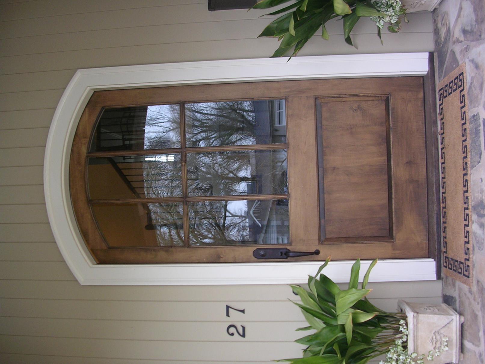 Heavy entry door framing framing contractor talk for Door jamb size for 2x6 walls