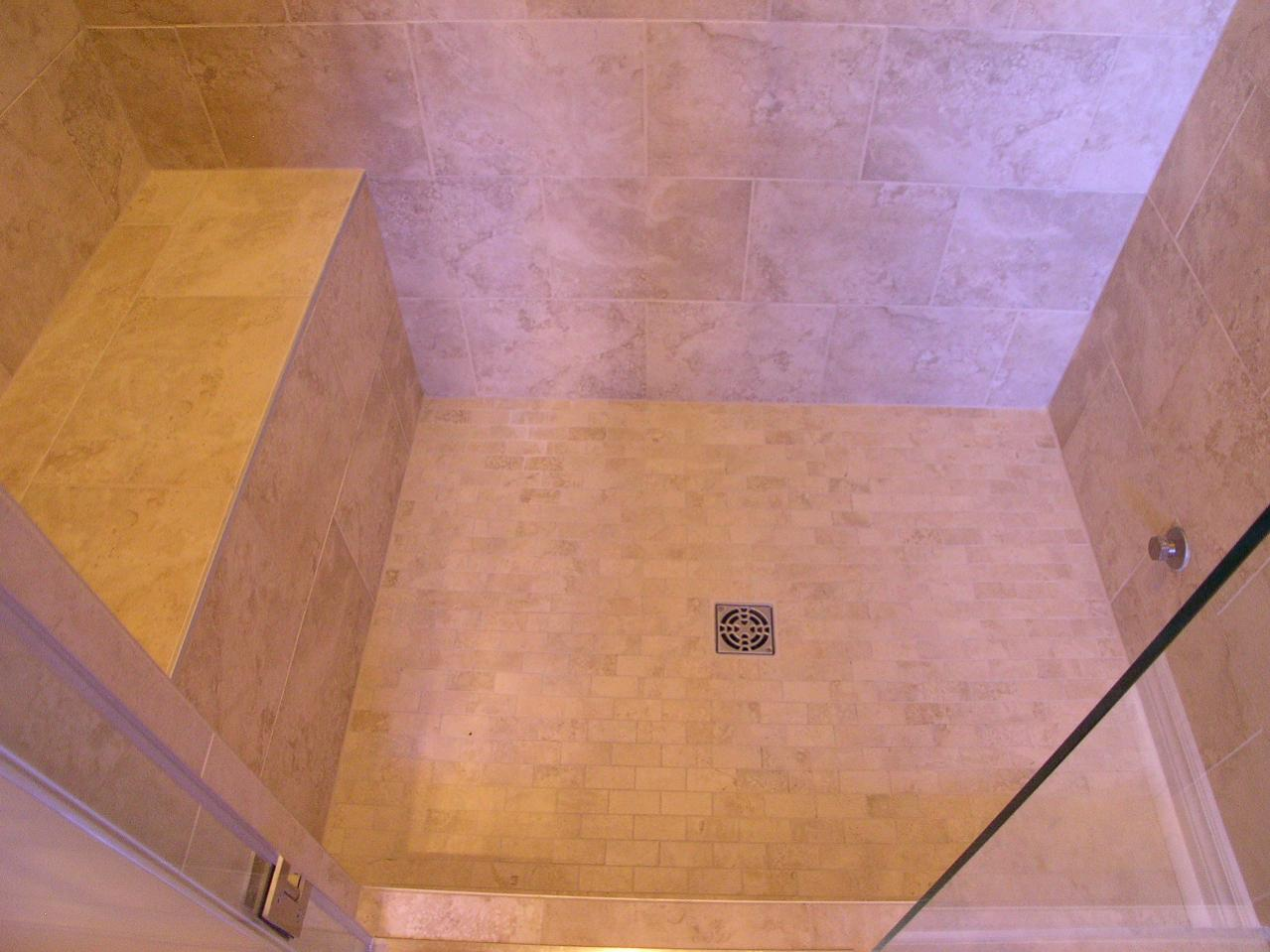 tile my bathroom building a shower bench when using backer board on walls 14699