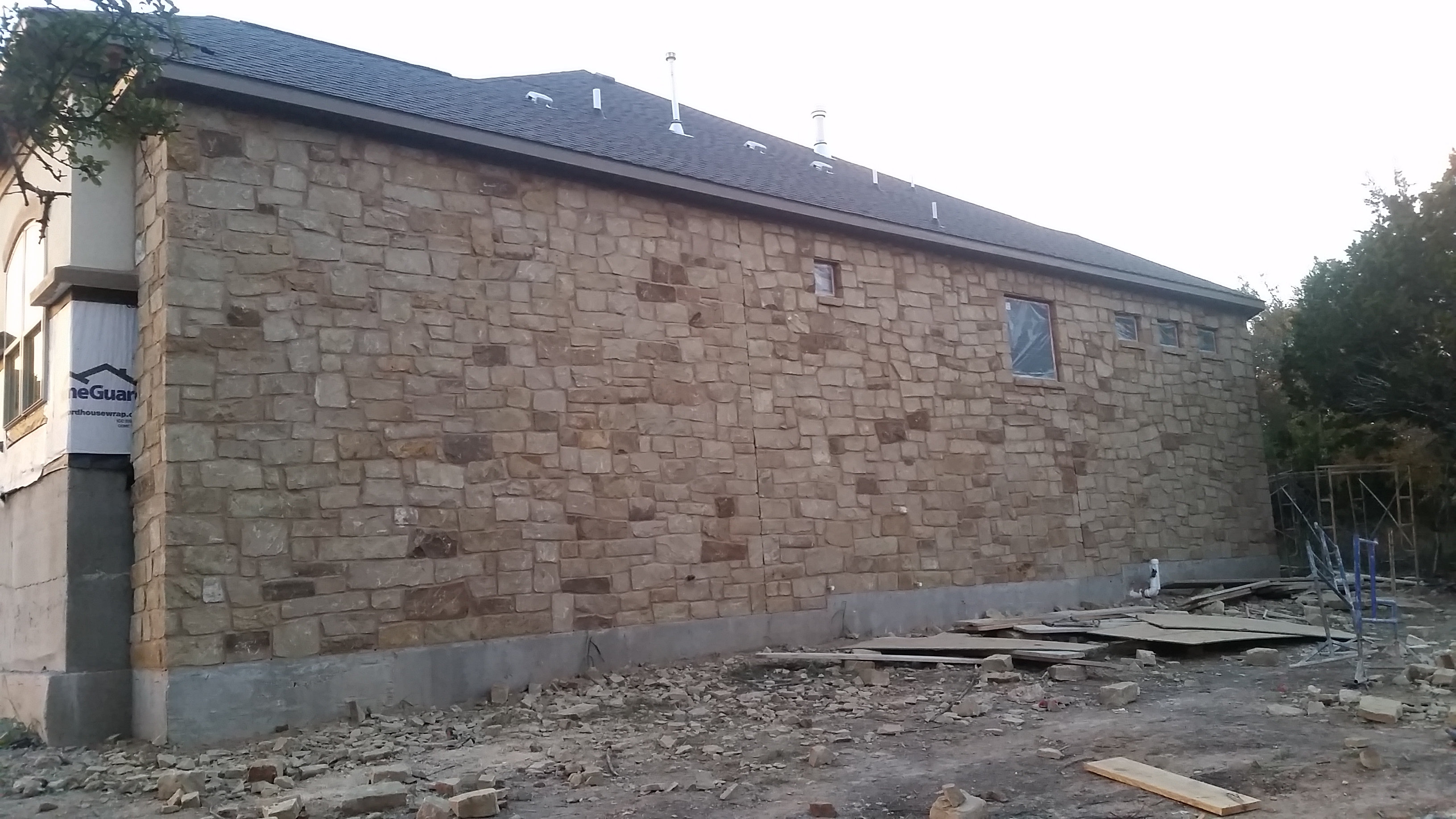 New Stone Work - Your honest opinion please!-east-wall.jpg