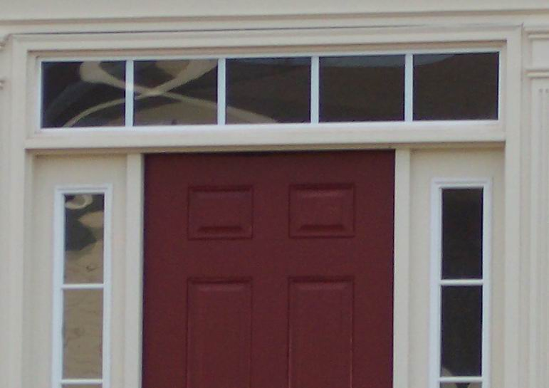 Storm Door Install With Sidelights And Transom