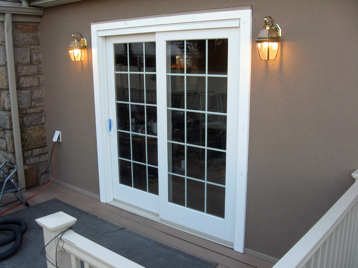 Marvin ultimate clad sliding french door windows siding