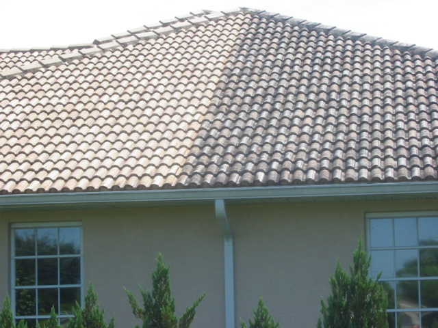 How do the roofing manufacturers say to clean roofing? Like this=-example-roof-47-par-view-rd-oct-1-2010-2-.jpg