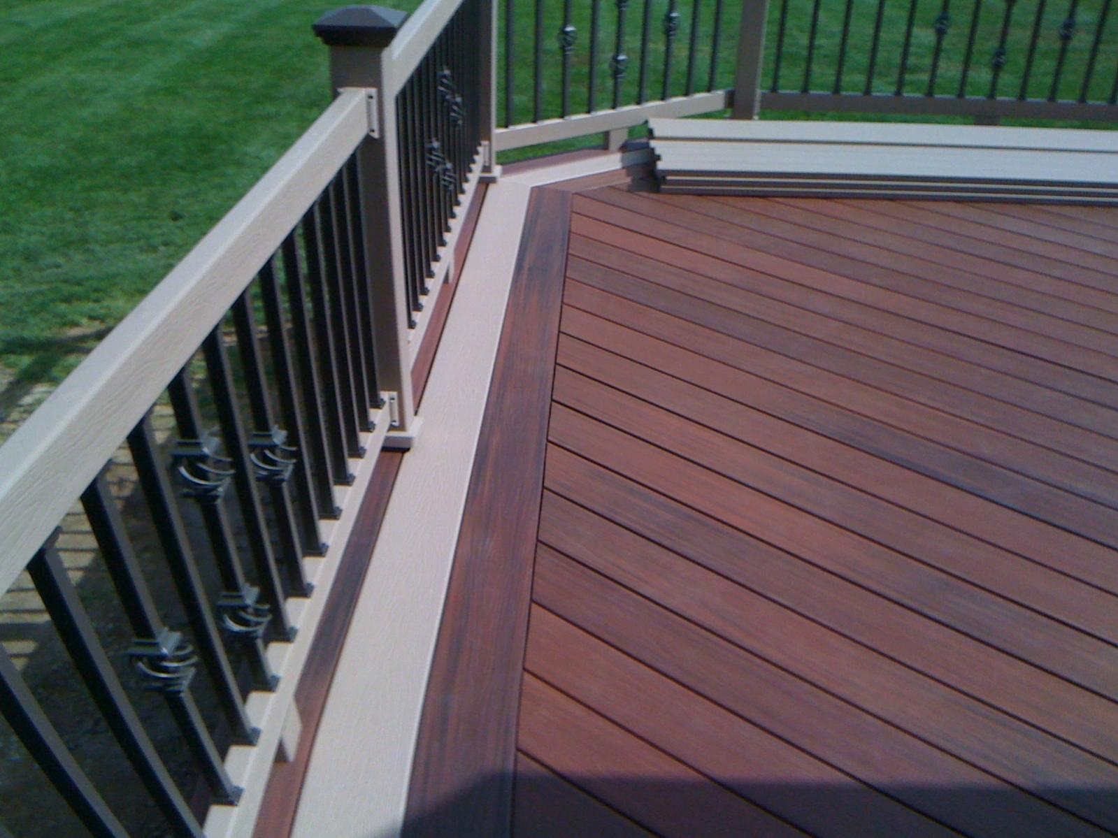fiberon horizon tropics decking decks fencing