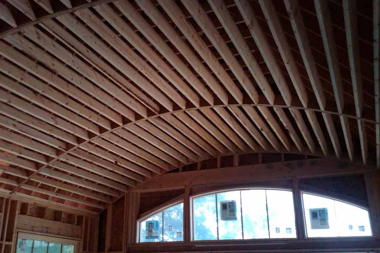 I Need To Build Barrel Ceiling