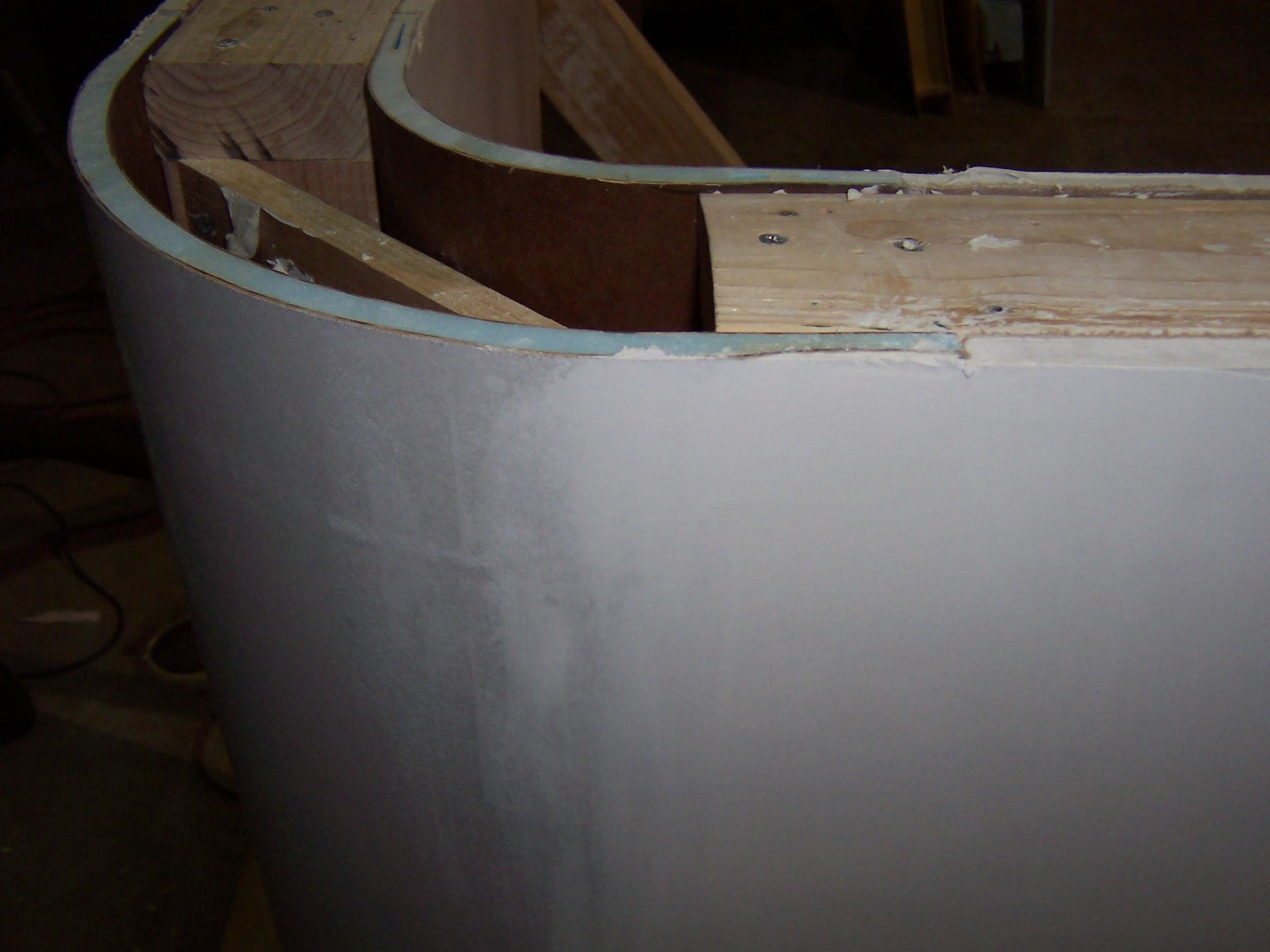 Curved Drywall Corners Drywall Contractor Talk
