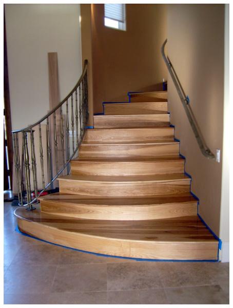 ... Hickory Stair Treads Finish2nov08