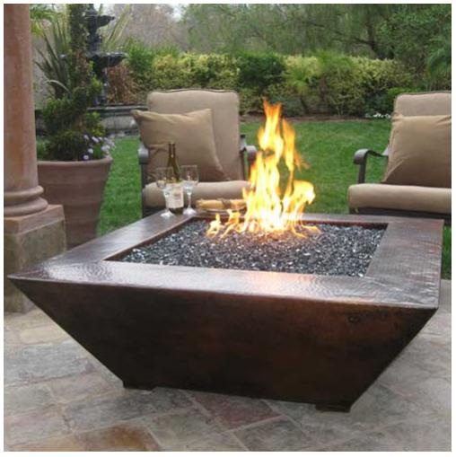How To Build A Fire Pit Table
