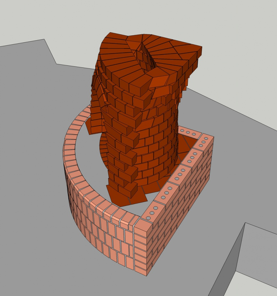 I am currently designing a kiva fireplace that will be built into an adobe home