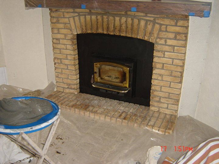 Brick Facade Fireplace Everything You Need To Know About How To Install Brick Veneer A Diy