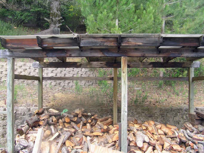 Patio/Deck Covers Firewood Cover 2 Red