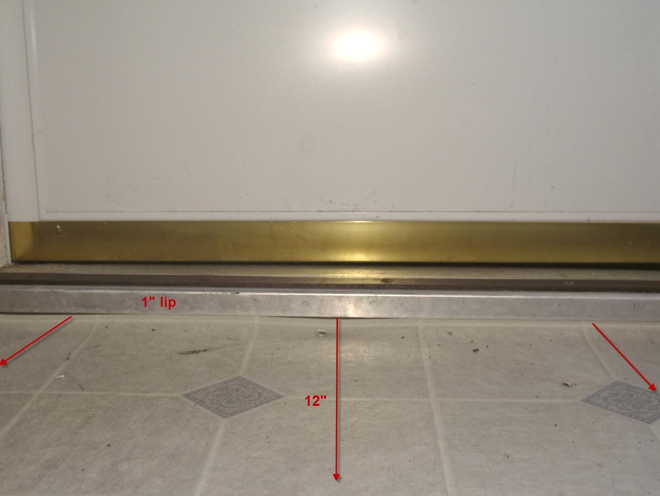 Best Product To Quot Ramp Quot Floor Under Vinyl Sheet Flooring Flooring Contractor Talk