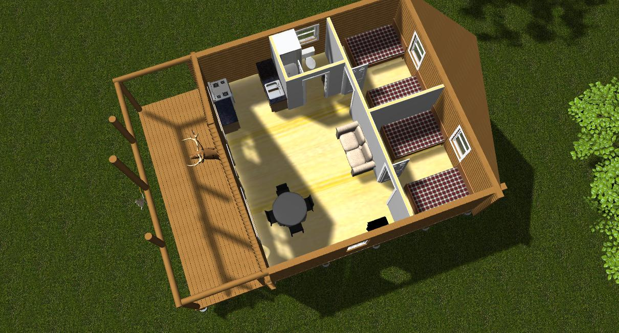 Cabin plan software woodworktips for Residential floor plan software