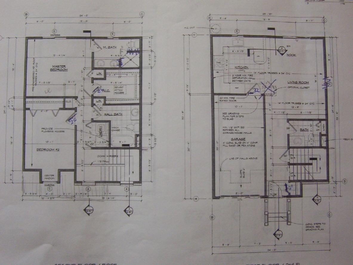 Hvac Drawing Reading Blueprint Blunders Framing Contractor Talk Re