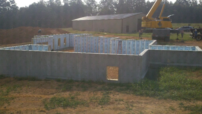 Superior walls installs architecture design for Superior wall foundation