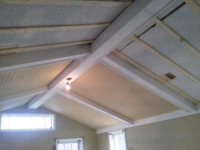 Beams And Bead Board Carpentry Picture Post Contractor