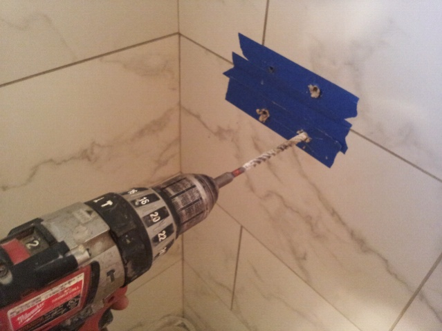 drilling ceramic tiles bathroom drilling porcelain tile page 2 flooring contractor talk 18212
