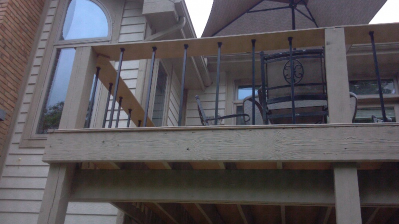 Beam Sistering Deck Decks Amp Fencing Contractor Talk