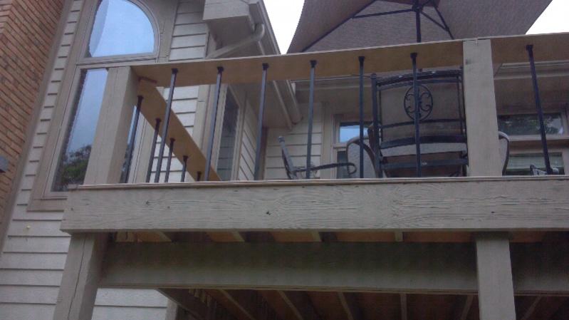 Beam Sistering Deck Decks Amp Fencing Contractor Talk