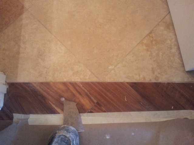 Re Wood To Porcelain Transition Travertine To Wood Attached Thumbnails