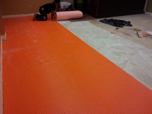 Ditra ? - Tiling - Contractor Talk