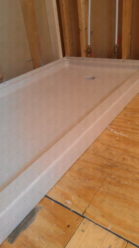 Bathroom Remodeling Harrisburg Pa harrisburg, pa orange creamsicle bathroom renovation - remodeling