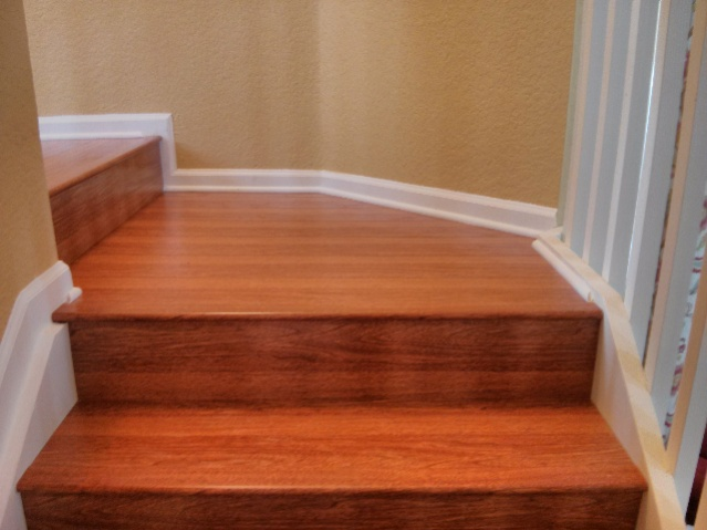 how to build laminate stairs
