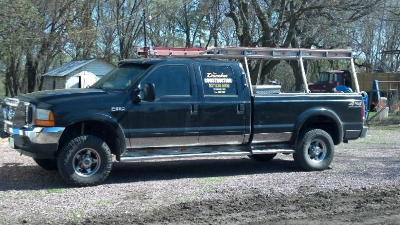 Diy Truck Ladder Rack cc Truck With Ladder Rack