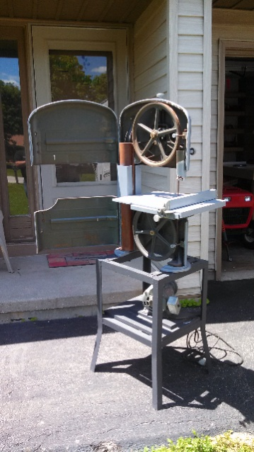 Old sears band saw left for dead tools equipment contractor talk old sears band saw left for dead keyboard keysfo Choice Image