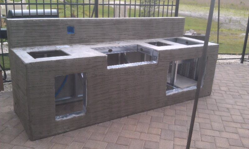 How To Build Metal Frame Outdoor Kitchen - Outdoor Designs