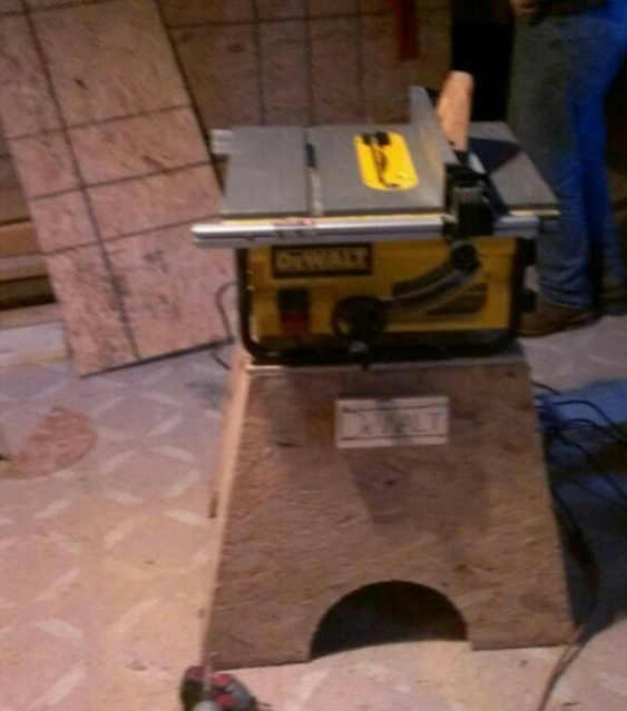 Dewalt Jobsite Saw Stand Options - Carpentry - Contractor Talk