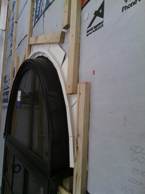 Arch Window Trim Flashing Windows Siding And Doors