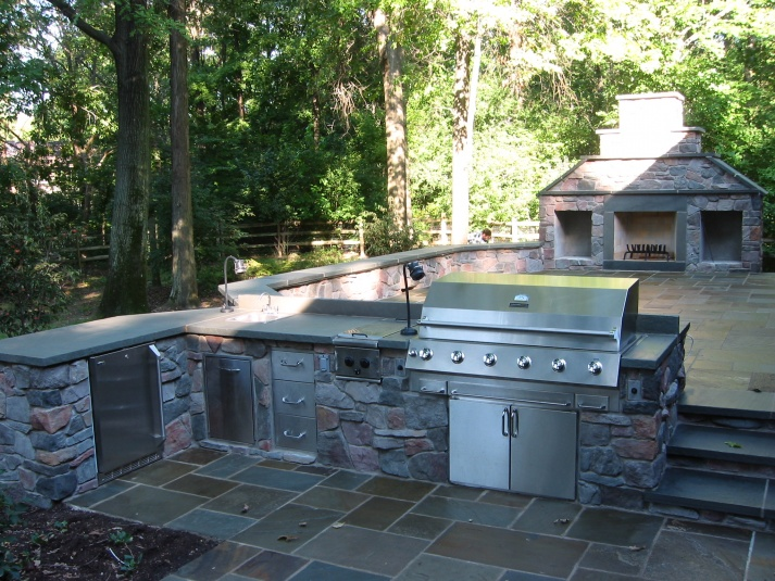outdoor kitchen build question masonry contractor talk