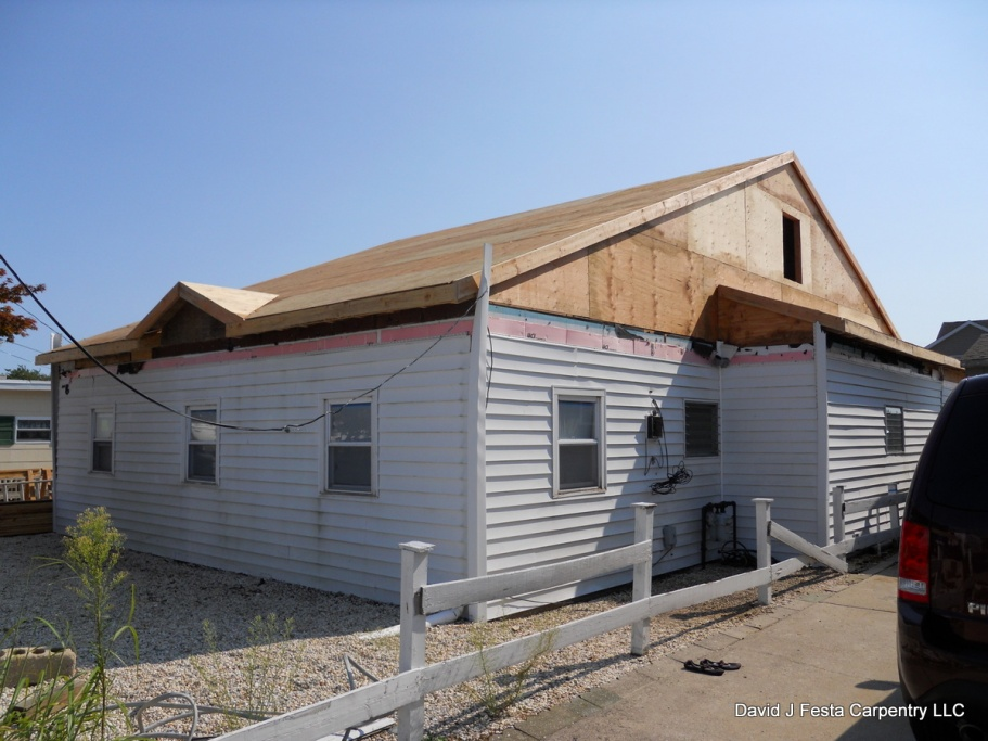 Removing illegally built second floor home addition page for Framing a second floor addition