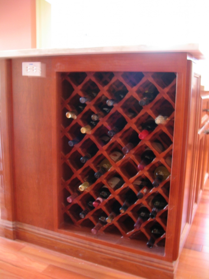 wine rack grid plans