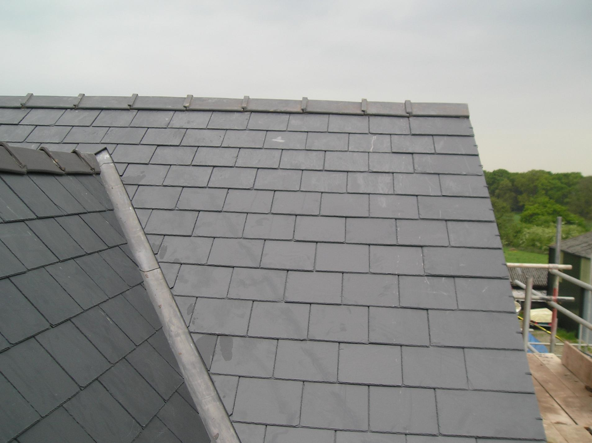 New Slate Roof Roofing Picture Post Contractor Talk