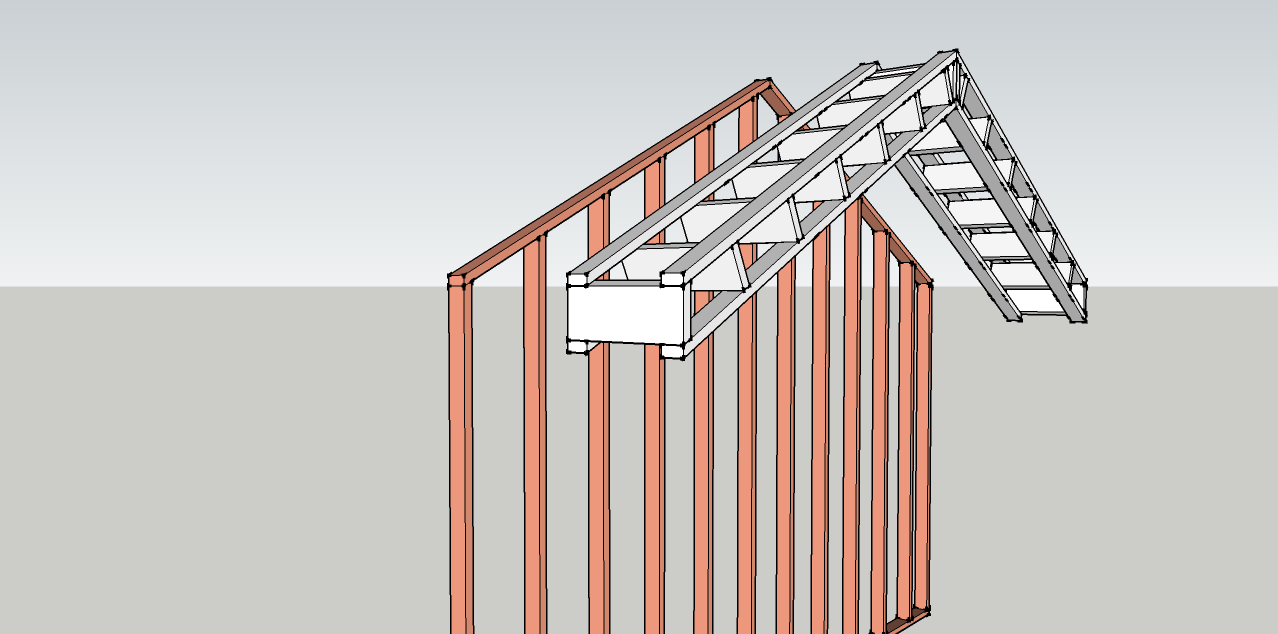 Best Way To Build Rake Walls Framing Contractor Talk