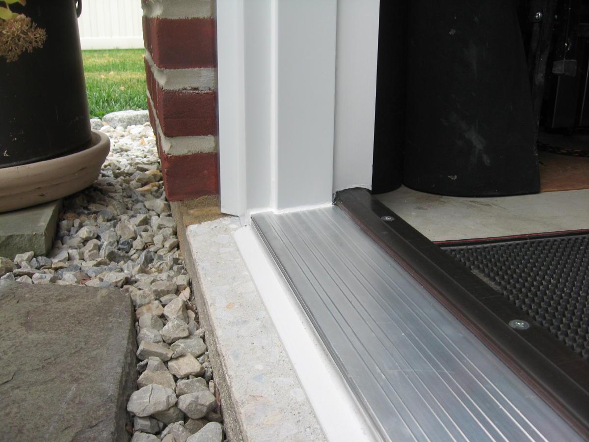 Finishing Threshold On Concrete Page 2 Windows Siding