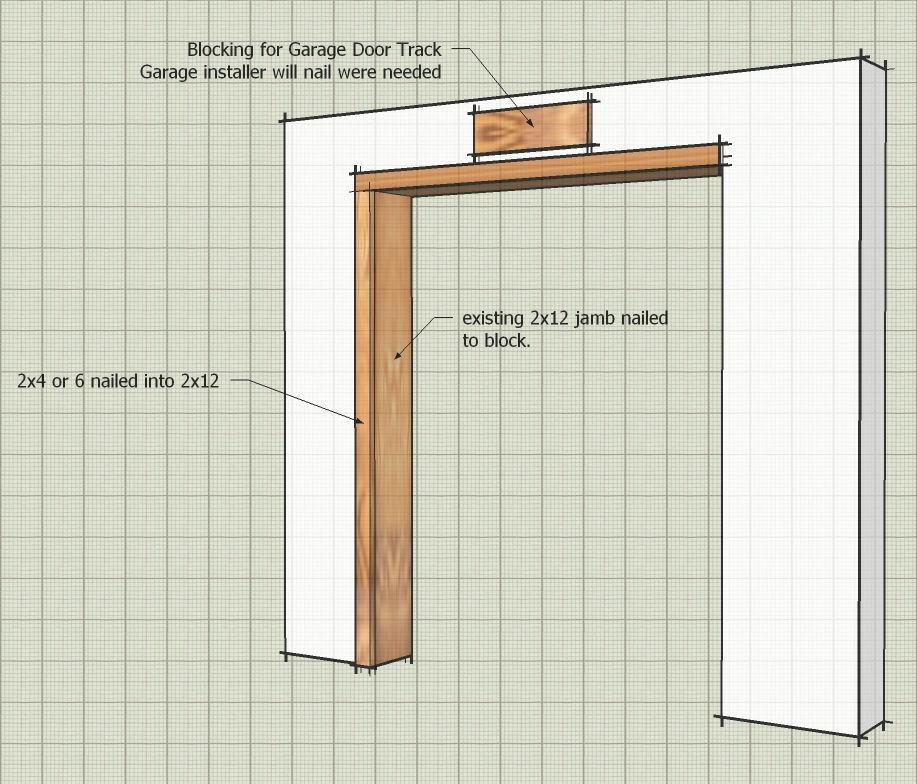 Icf Framing For Garage Door Framing Contractor Talk