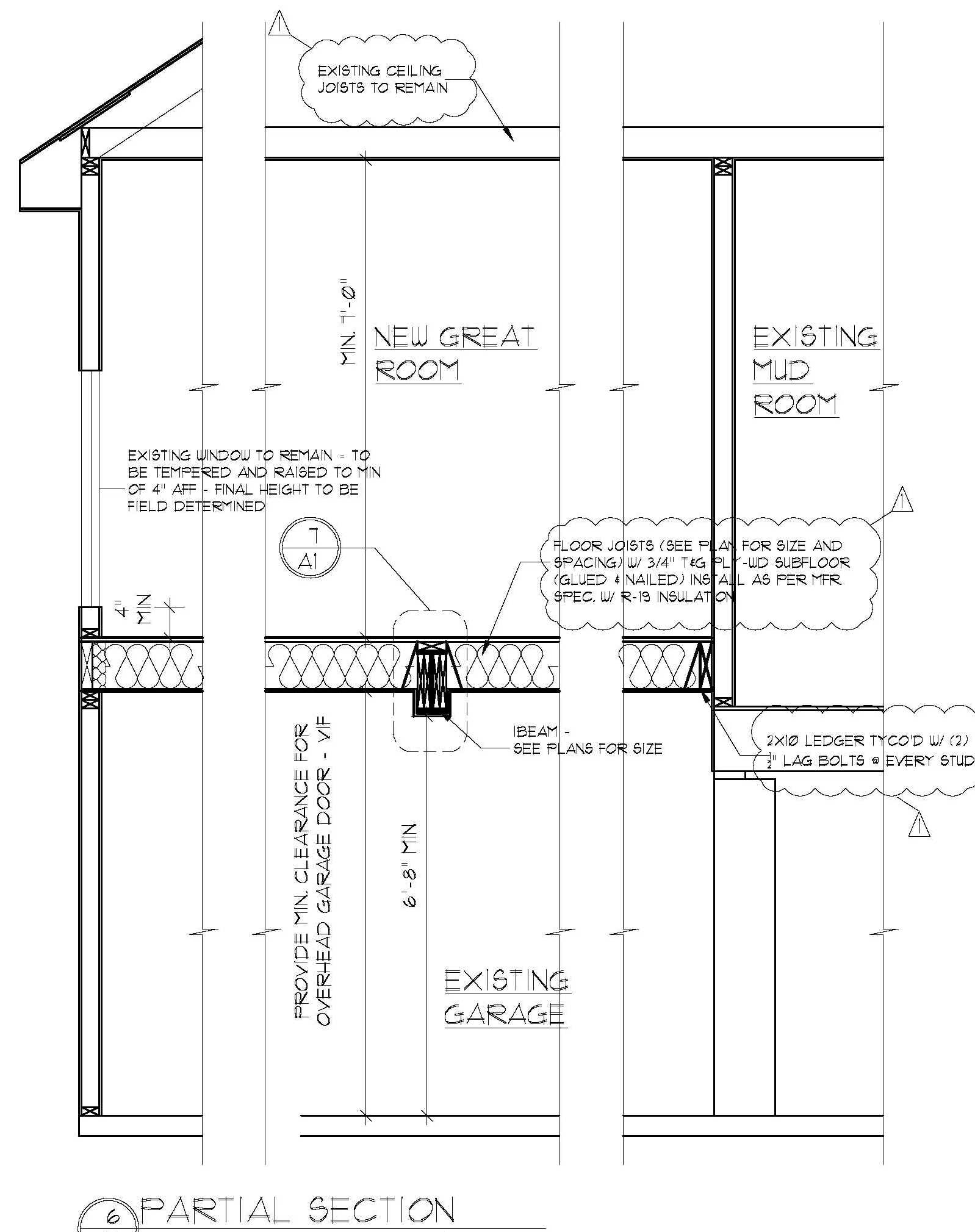 Minimum Ceiling Height For 7 Garage Door Windows