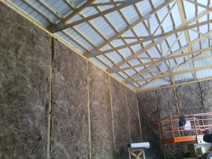 Beautiful Insulating Pole Barn Question Garys Building Insulating 2
