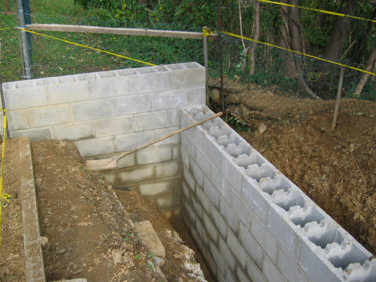 block wall design question garys wall 001ajpg - Masonry Block Wall Design