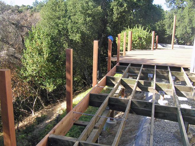 Ipe Hillside Deck Decks Amp Fencing Contractor Talk