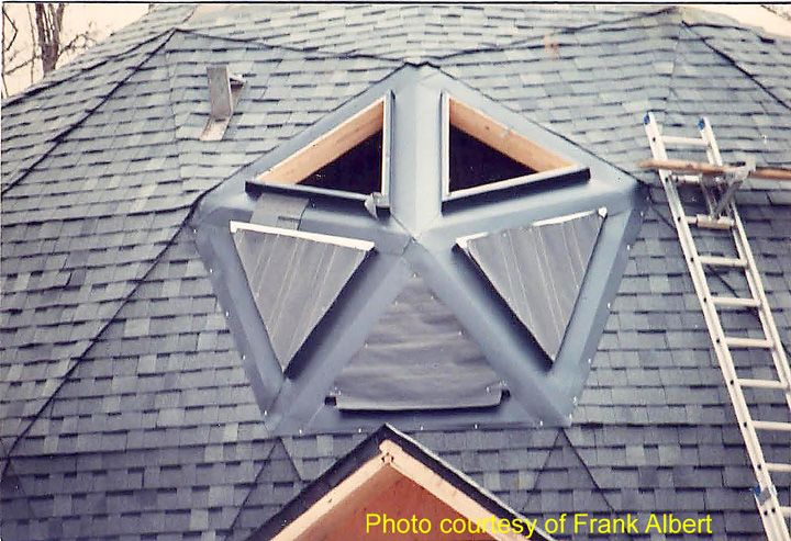 Roofing A Geodesic Dome House Roofing Contractor Talk