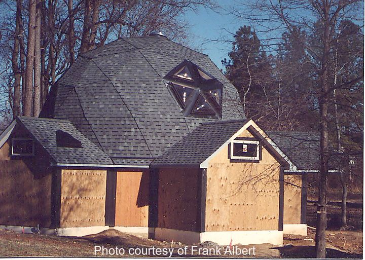 Roofing A Geodesic Dome House Contractor Talk Professional Construction And Remodeling Forum